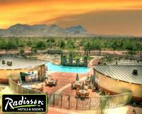 Sunset at Radisson Fort McDowell Resort