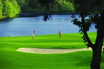 Golf at The Woodlands Resort & Conference Center.