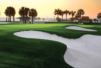 Golf course near Long Bay Resort.