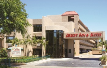Exterior view of The Anaheim Desert Inn & Suites.