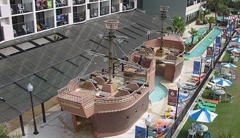 Children' playground at The Breakers Resort.