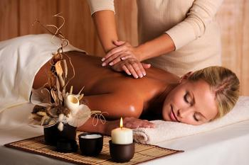 Enjoy a deep tissue massage at The Ridge Tahoe.