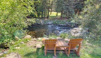 View from River Stone Resort Properties.