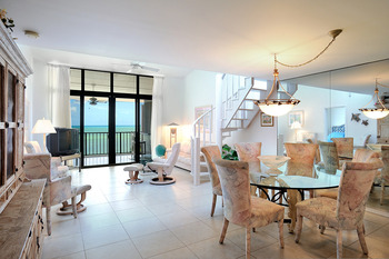 Vacation rental interior at Rent Key West Vacations.
