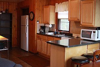 Cabin Interior at Thunderbird Lodge