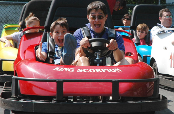 Go-Carts at Woodloch