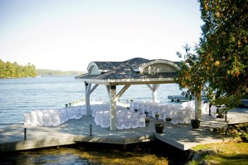 Wedding at Port Cunnington Lodge.