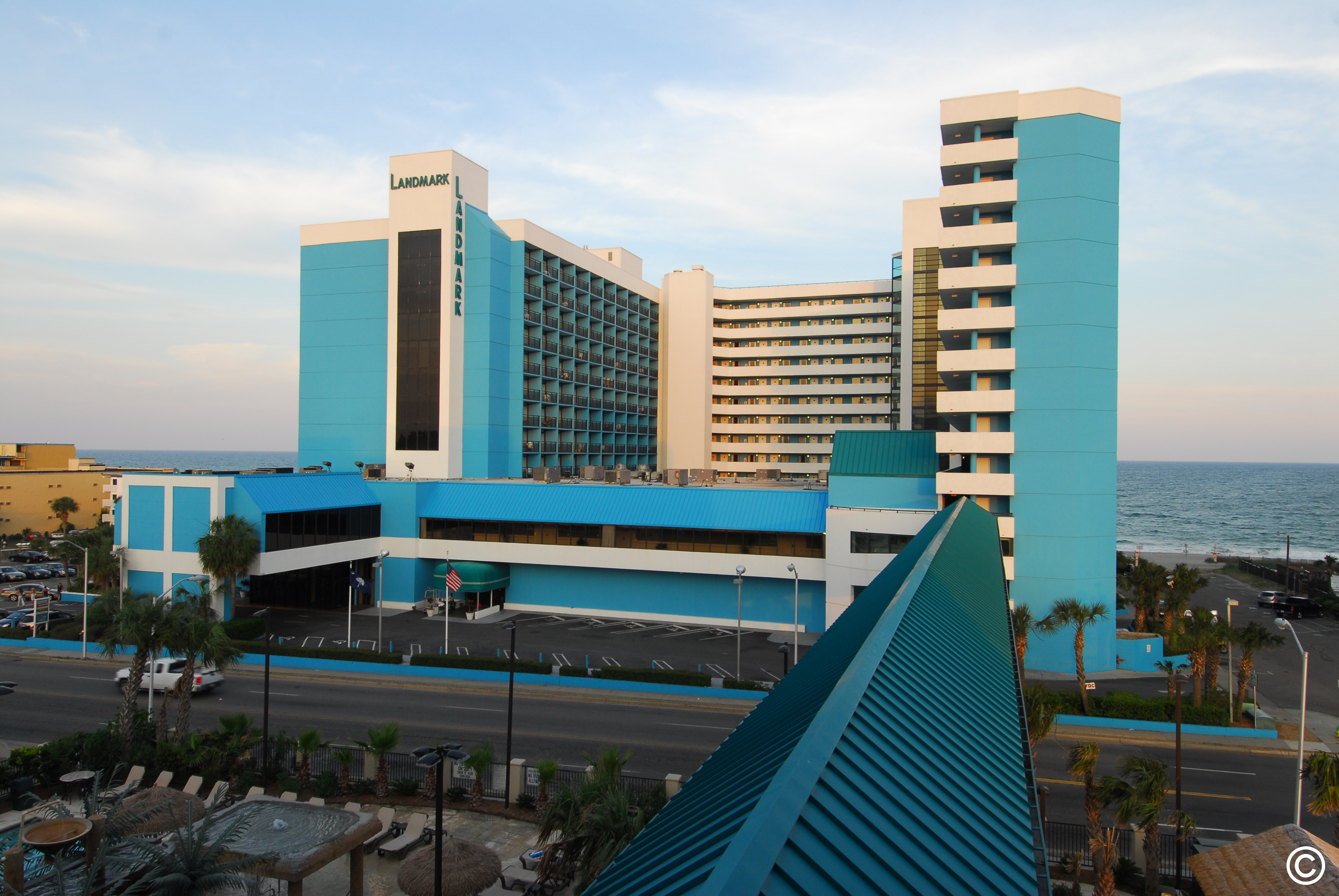 Exterior view of Landmark Resort.