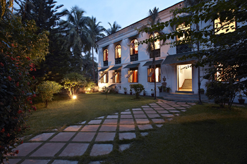 Exterior view of Siolim House.