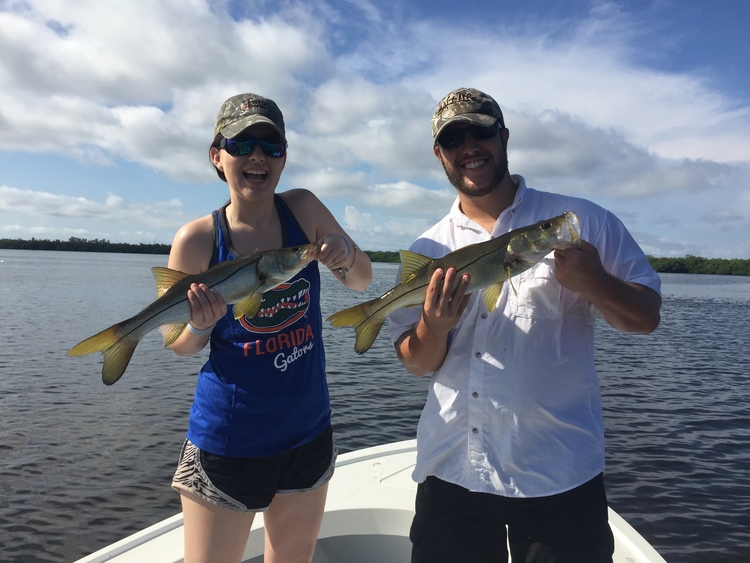 Fishing at Island Real Estate.