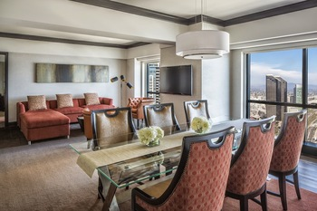 Suite dining room at Manchester Grand Hyatt San Diego.