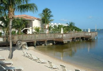 The beach at Courtyard by Marriott Key West Waterfront.