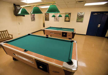 Pool tables at Wyndham Vacation Resorts Shawnee Village