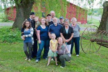 Family at Inn at the Ridge.