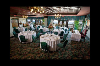 Wedding reception at Boardwalk Plaza Hotel.