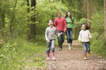 Nature hikes at Wyndham Vacation Resorts Shawnee Village.