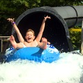 Kids on Water Slide at Zoom Flume Water Park
