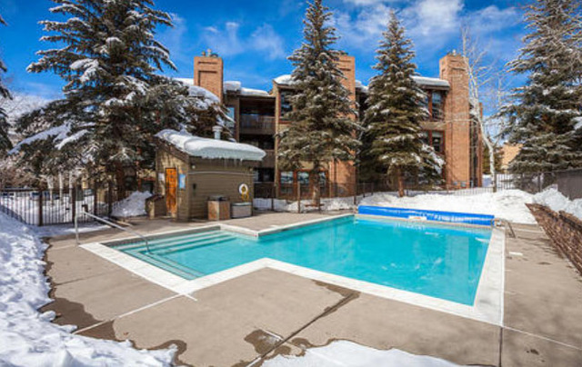 Outdoor Pool at The Lodge at Steamboat
