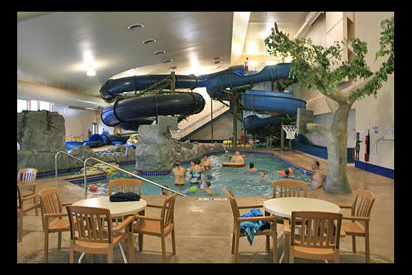 Waterpark at Rapid River Lodge & Waterpark.