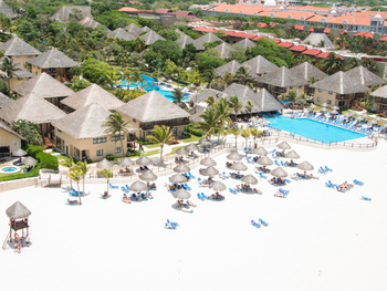 The beach at Allegro Resort Playacar.