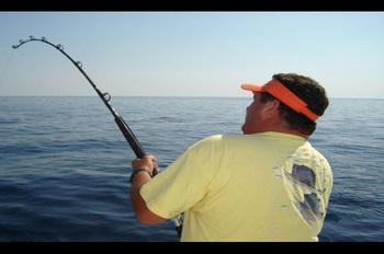 Fishing at Holiday Inn Resort.