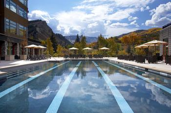 Outdoor pool at The Westin Riverfront Resort & Spa.