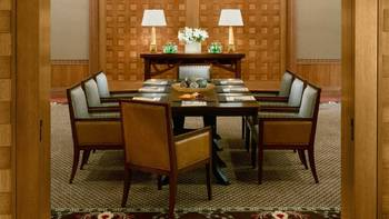 Meeting room at Four Seasons Resort Whistler.