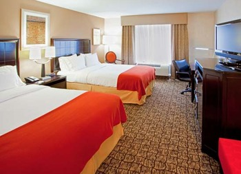 Two Queen Room at Holiday Inn Express Columbia East