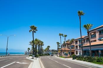 Exterior view of Tamarack Beach Resort.