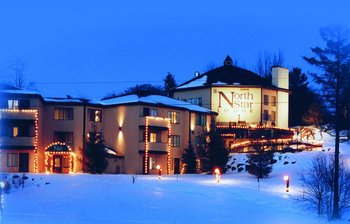 Exterior view of North Star Lodge & Resort.