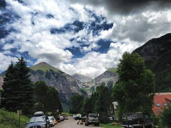Spectacular mountain views at SilverStar Luxury Properties.