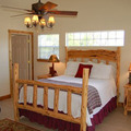 Cabin Guest Rooms at Roddy Tree Ranch