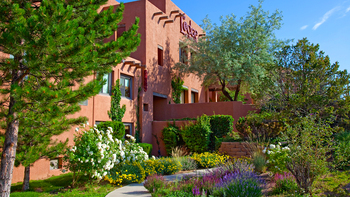 Exterior view of The Lodge at Santa Fe.