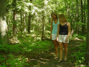 Nature walks at Chanticleer Guest House.
