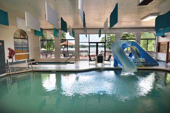 Indoor Pool at Baker's Sunset Bay Resort