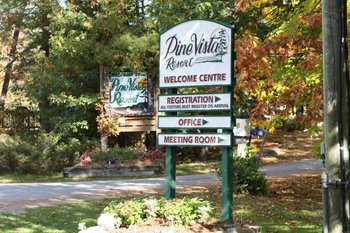 Welcome to Pine Vista Resort.