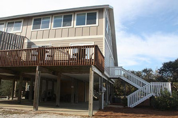 Vacation rental exterior at South Walton Vacations.
