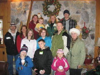Family reunions at Big Powderhorn Lodging.
