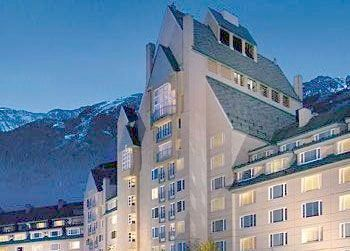 Exterior view of The Fairmont Chateau Whistler.