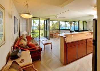 Vacation rental interior at Maui Vacation Rentals.