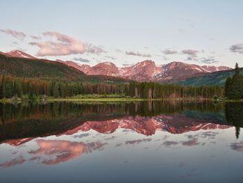 Lake view near Glacier Lodge.