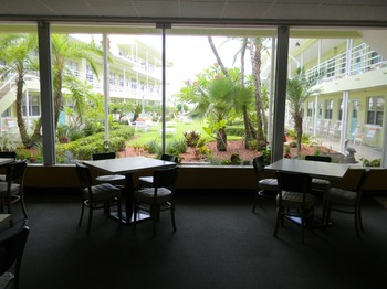 Interior view at Tropic Terrace Resort.