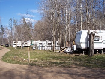 RV Park at Niemeyer's Rugged River Resort.