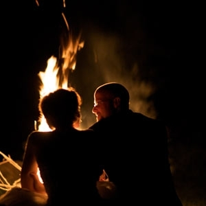 Romantic Bon Fire at Glenlaurel Inn