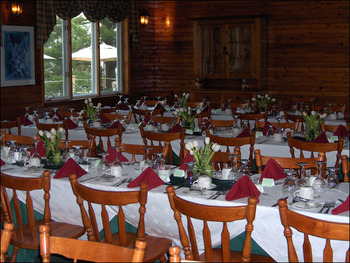 Wedding reception at Northridge Inn & Resort.