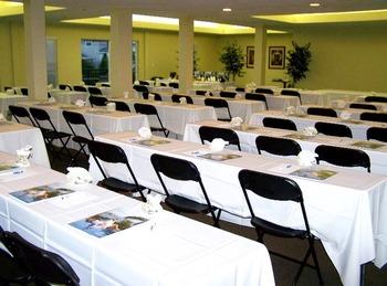 Conference room at Madeira Bay Resort.