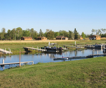 The Marina at Angle Outpost Resort & Conference Center.