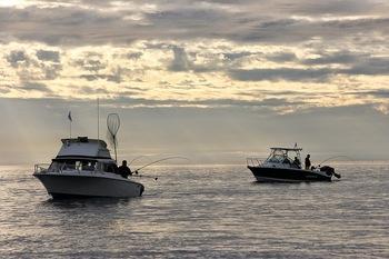 Fishing at Sooke Harbour Resort & Marina.