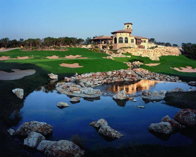 Golf course at La Cantera Hill Country Resort.