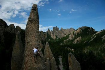 Rock Climbing at Backroads Inn & Cabins